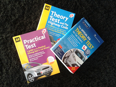 Stevenpullandrivingschool.co.uk theory test books for sale